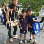 シンガポールの学生たち